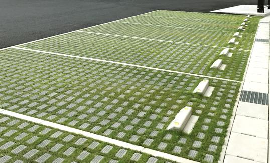 ブロック 緑化