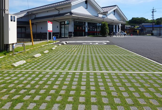 植生用ブロック(緑化ブロック)